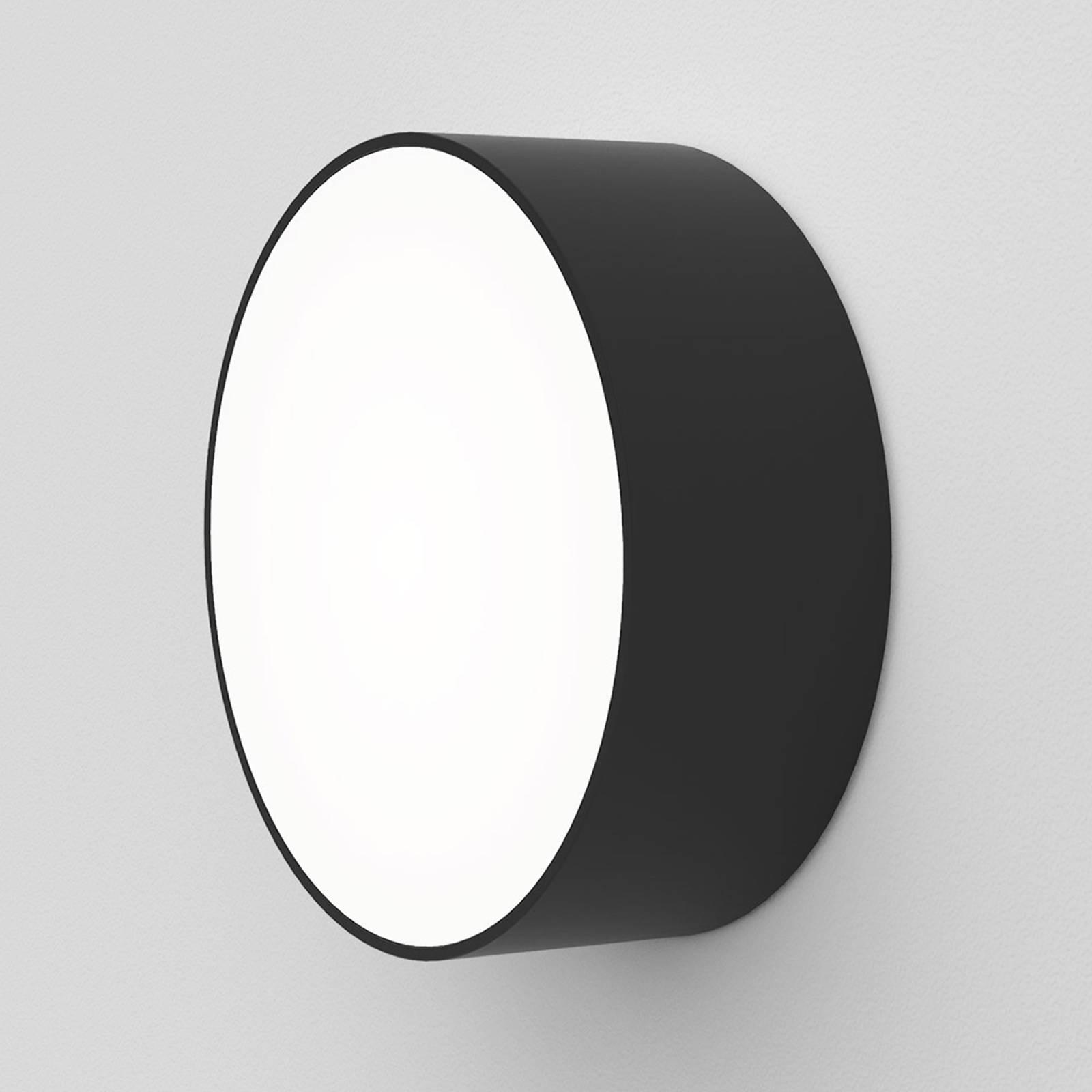 Astro Kea Round 150 LED-Wandleuchte schwarz
