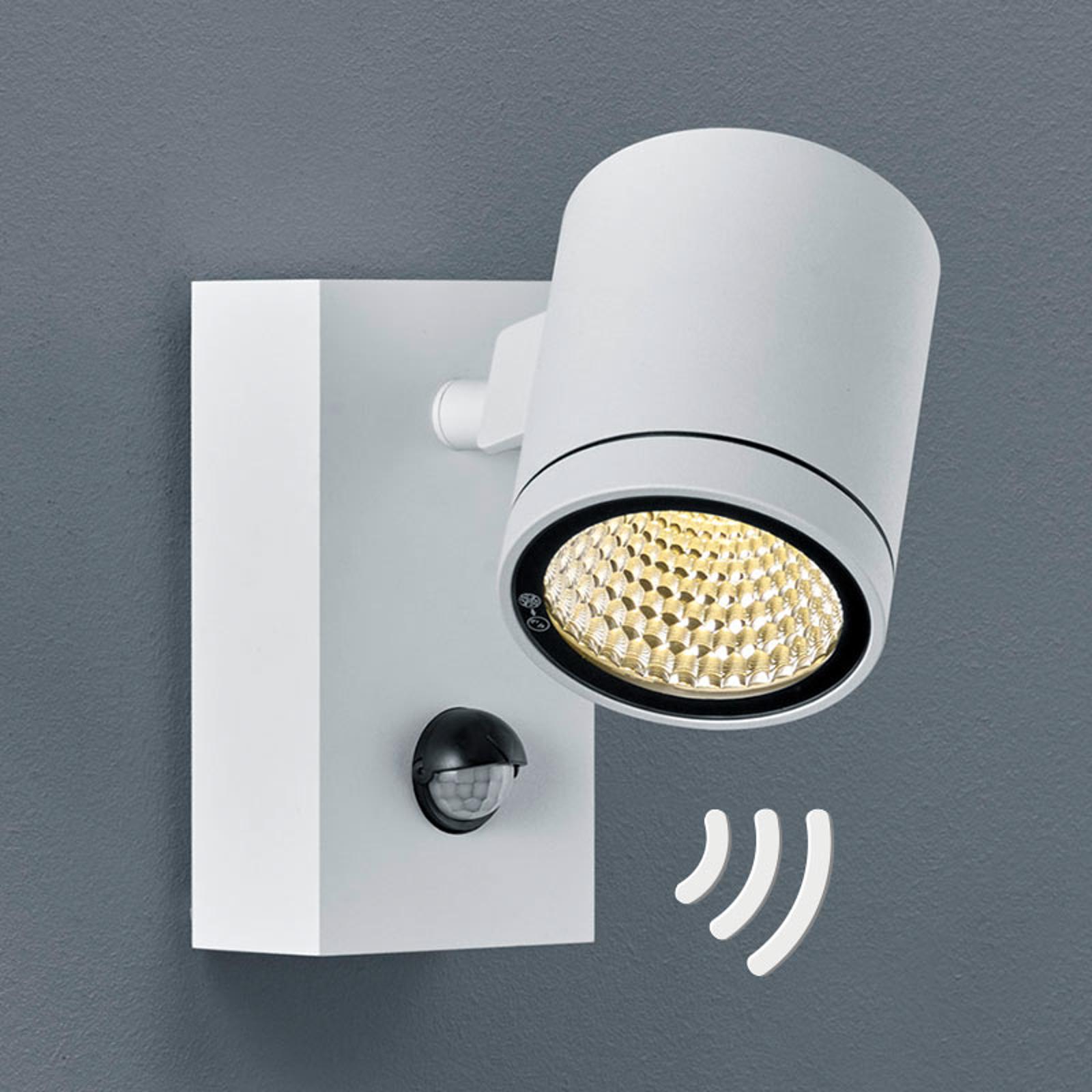 Spot mural LED Part détecteur de mouvement, blanc