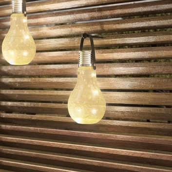 Lindby Shams - aurinkokäyttöinen LED-lamppu, 3 kpl