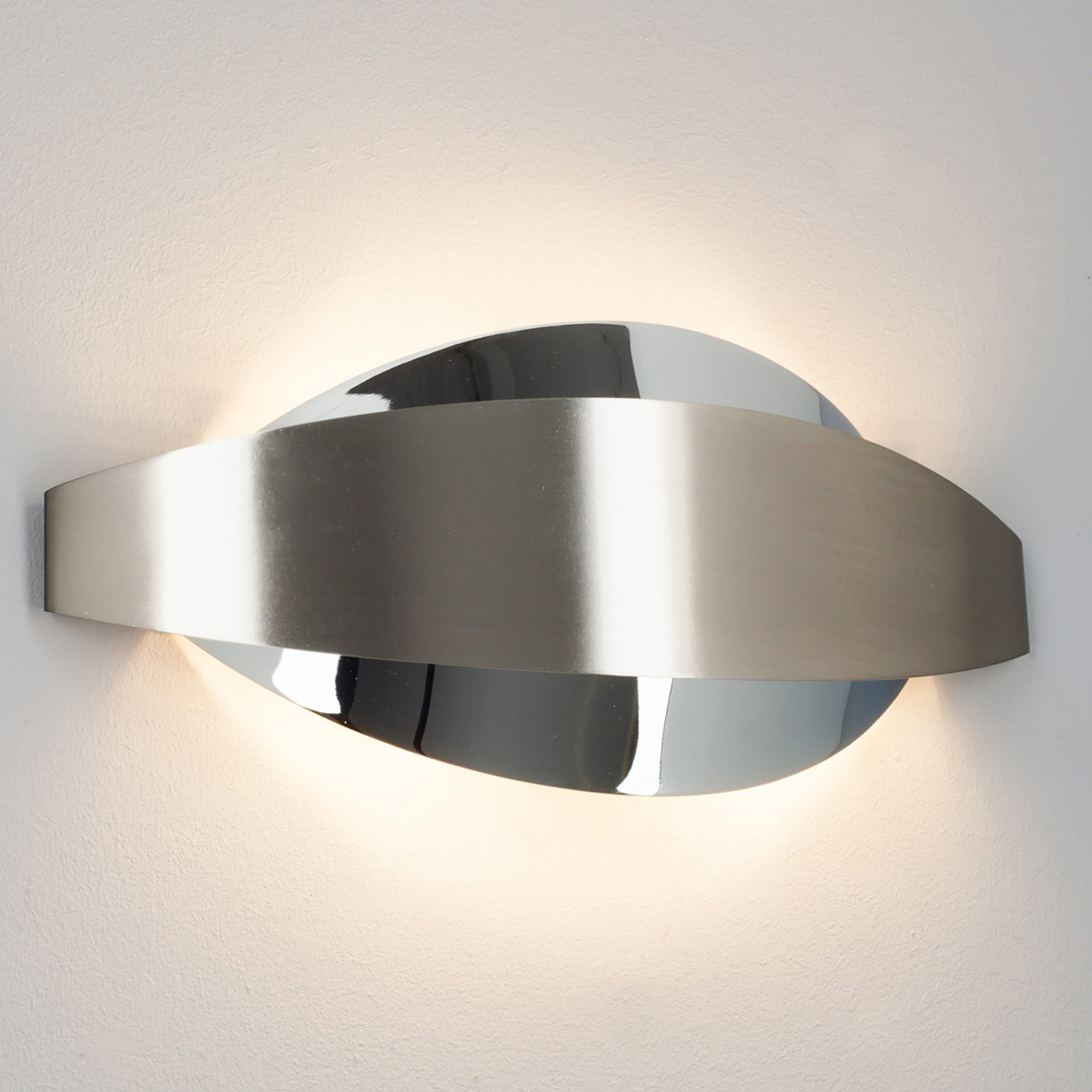 Ekstravagant vegglampe Lonna av metall med G9 LED