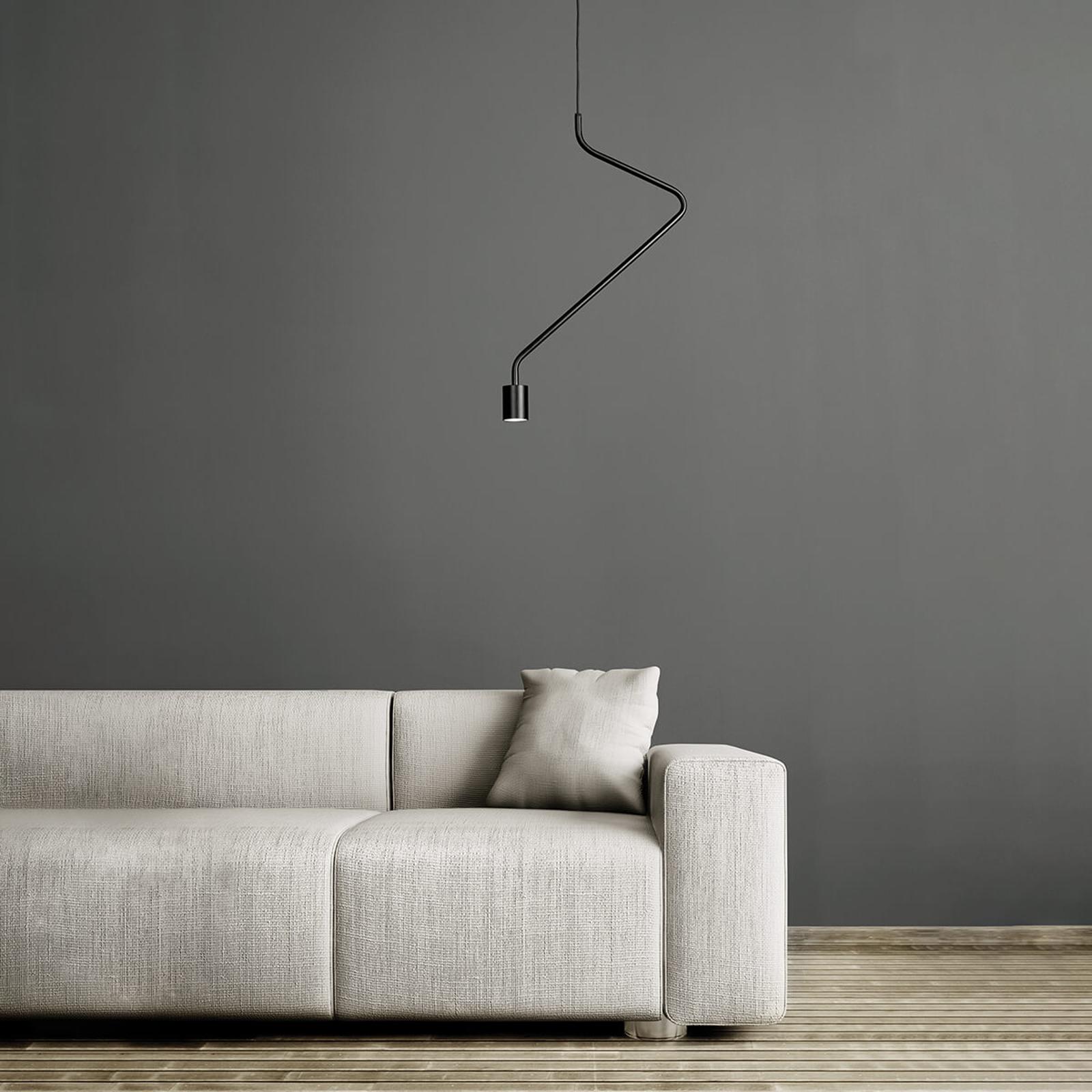 Jemné LED závěsné světlo Caos