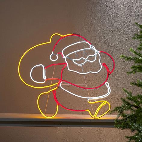 Dekoracja zewnętrzna LED Neoled Mikołaj