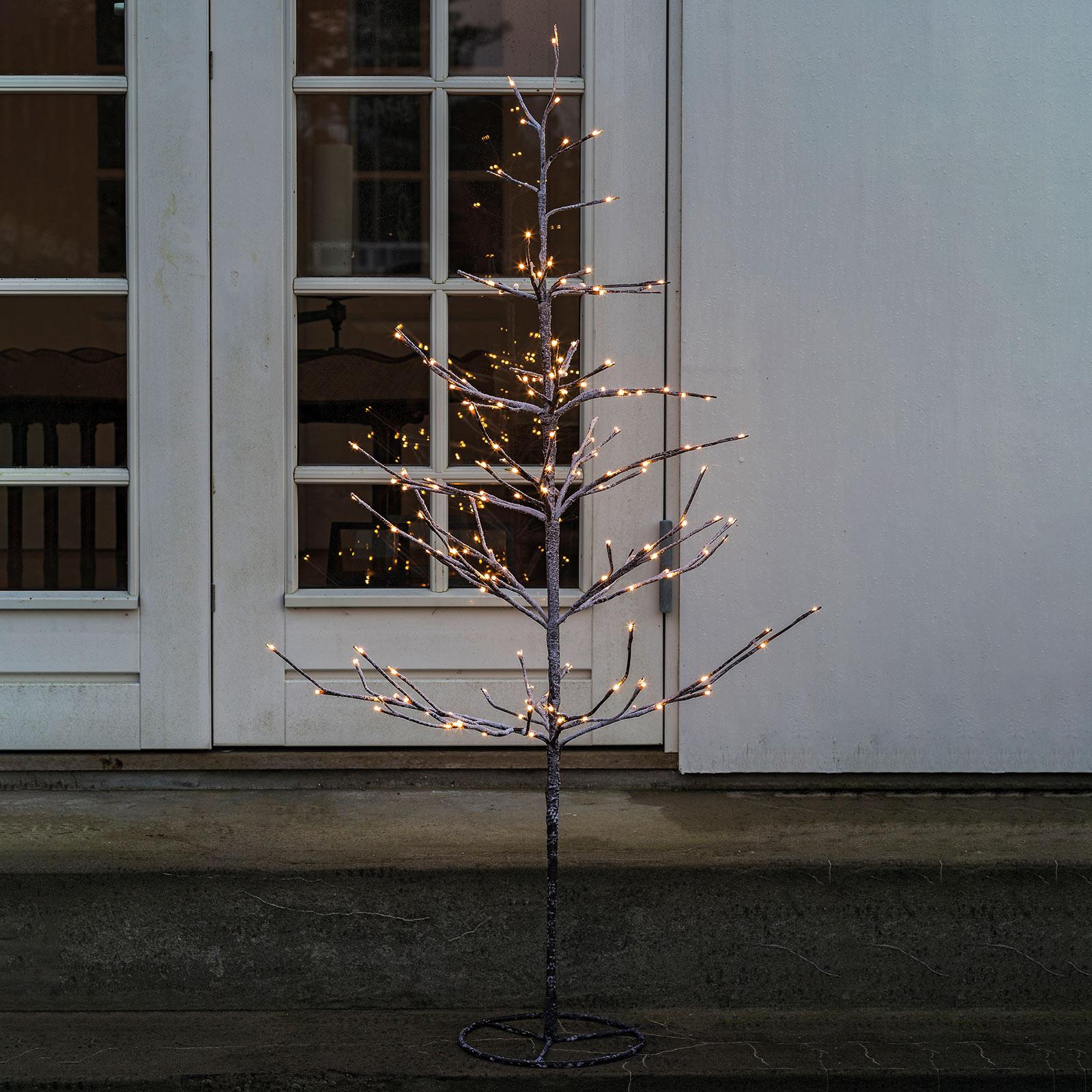 Drzewko LED Alex ośnieżone, wysokość 90 cm