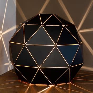 Otona - bordlampe i sort metal