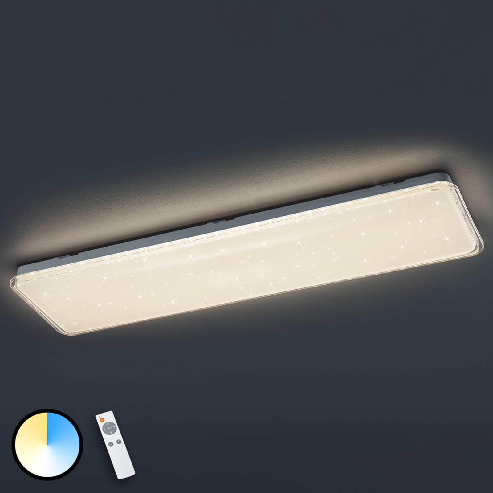 Acquista Brillante plafoniera LED Kyoto con telecomando