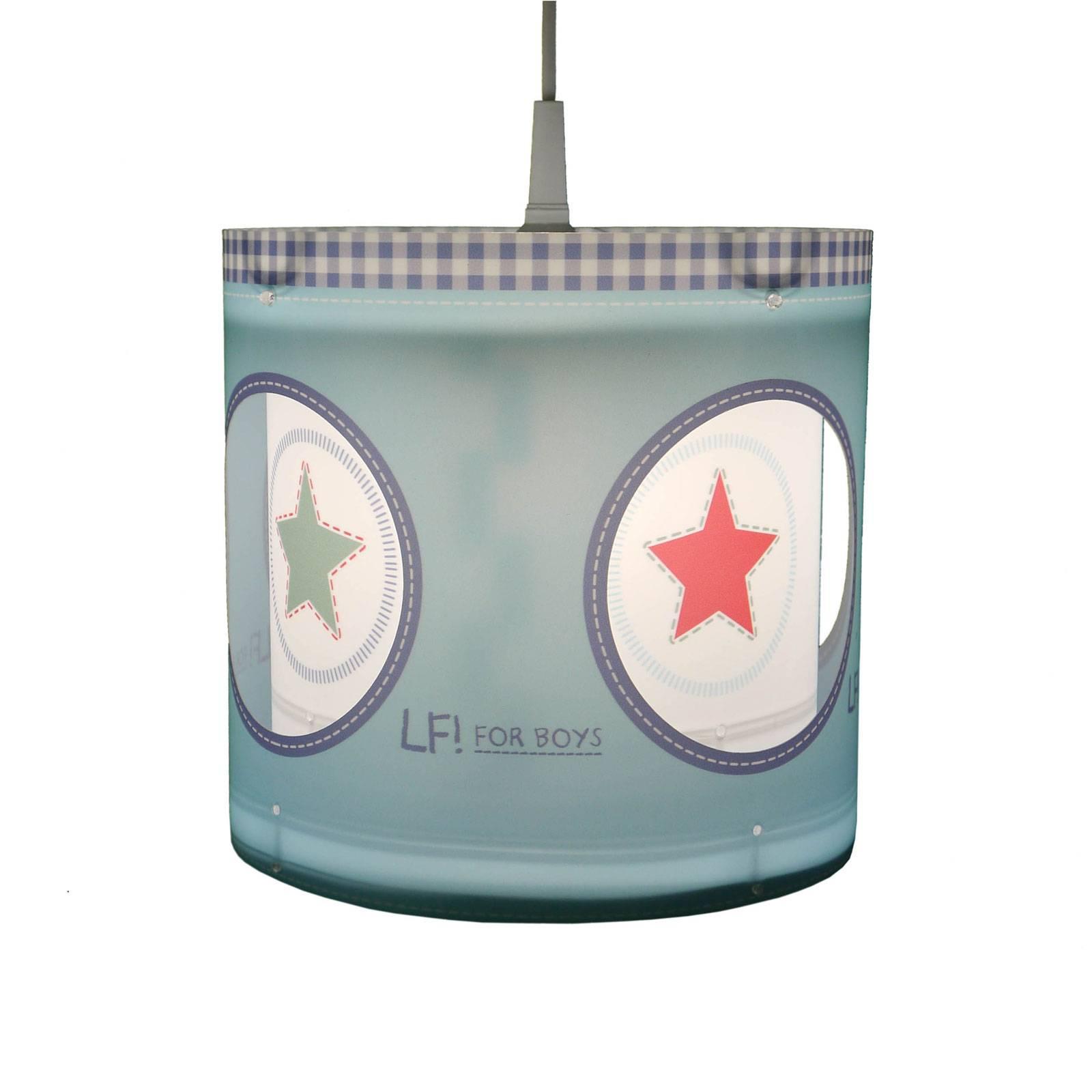 Obrotowa lampa wisząca Lief for Boys niebieska