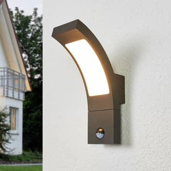 LED-ulkoseinävalaisin Juvia sensorilla