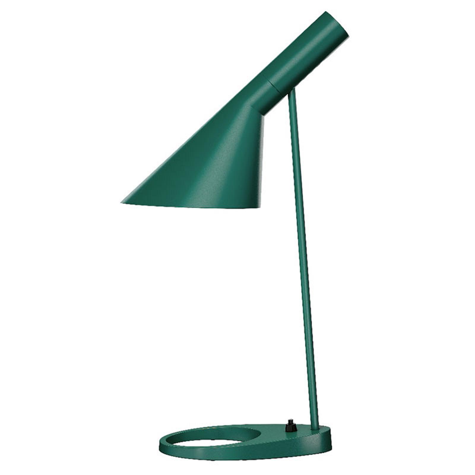 Louis Poulsen AJ - designer bordlampe, grøn