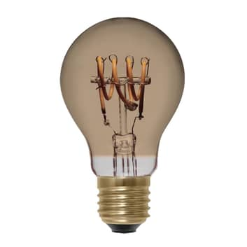 SEGULA Curved LED-pære E27 4W, guld