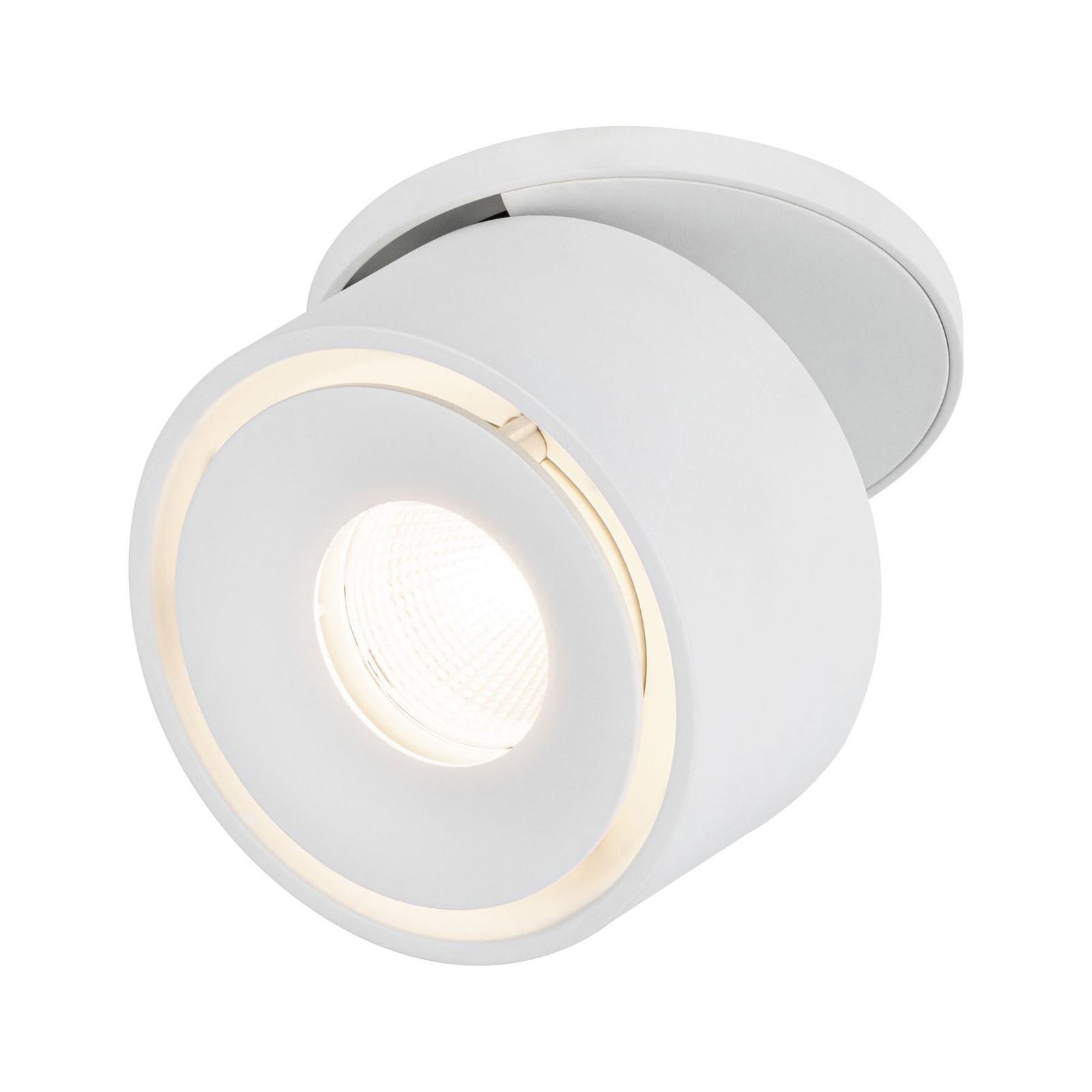 Paulmann Spircle LED-innfellingslampe matt hvit