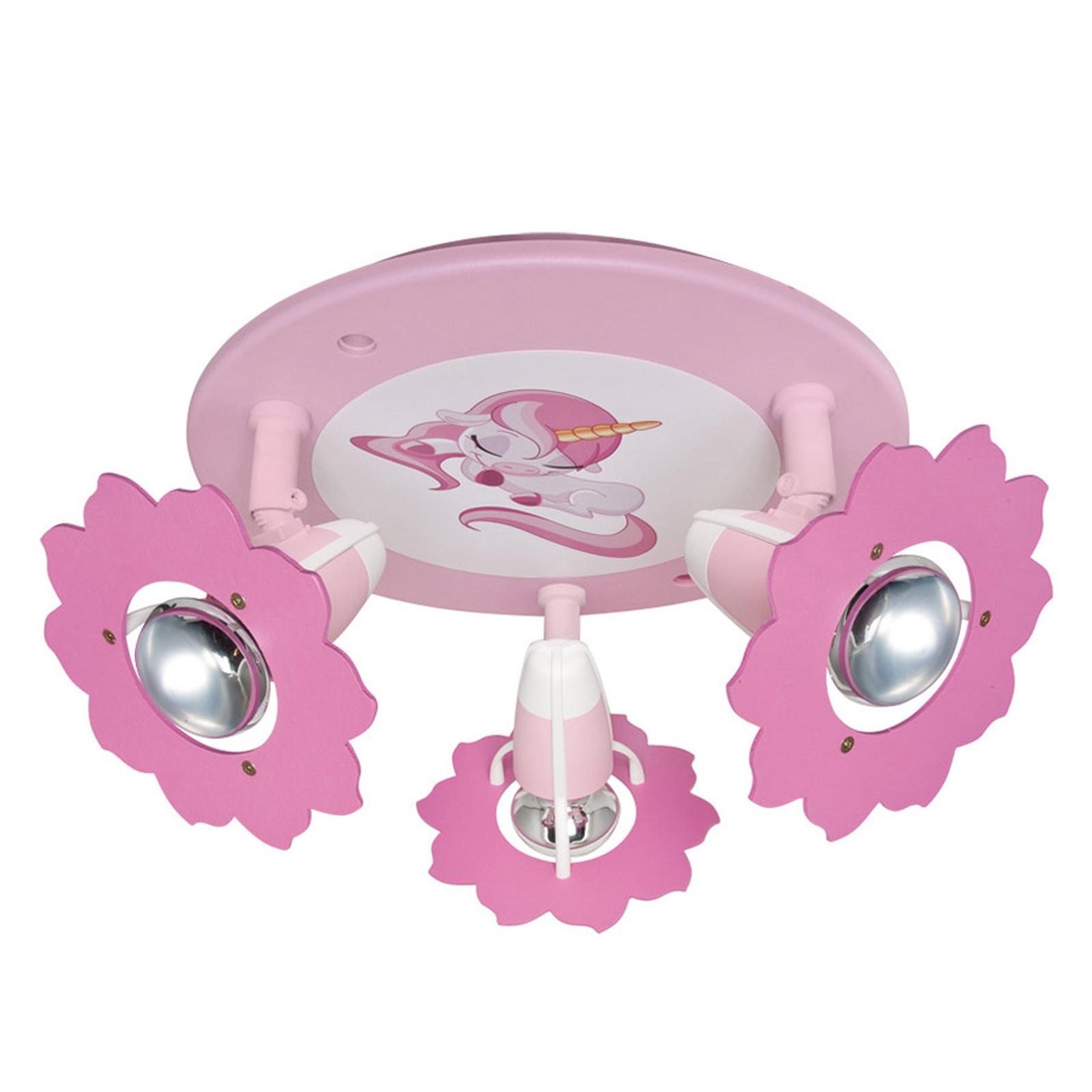 Plafoniera Unicorno 3 luci - regolabile