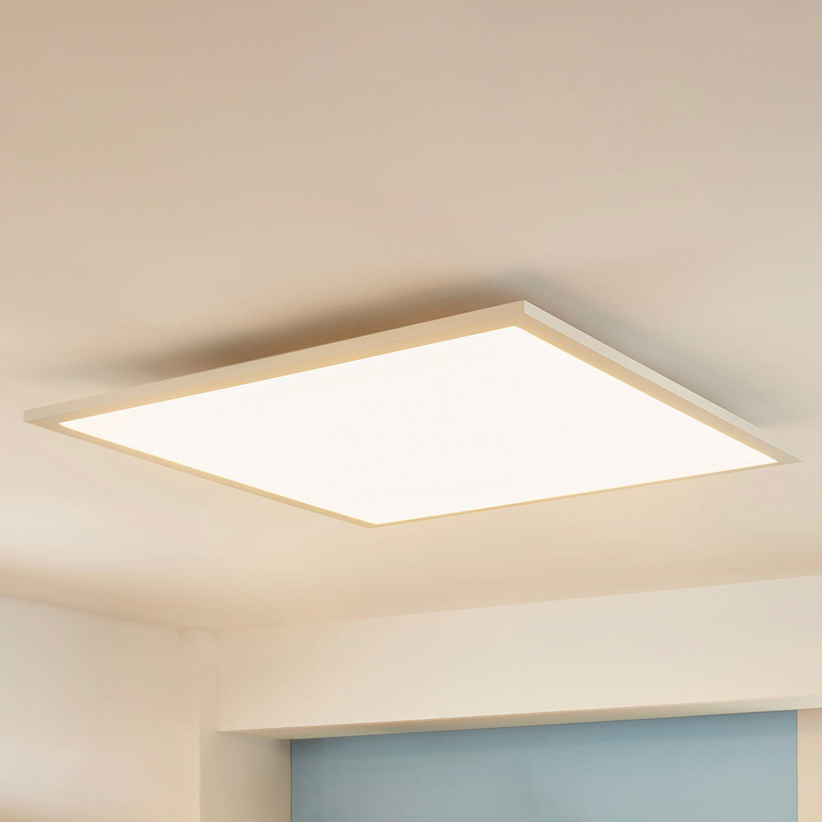 Kvadratisk LED-panel Enja, 62 x 62 cm