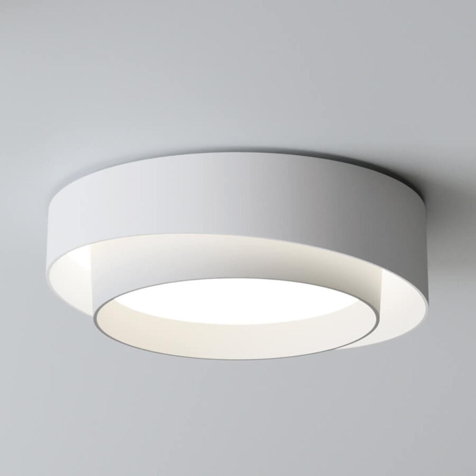 Vibia Centric - weiße LED-Design-Deckenleuchte