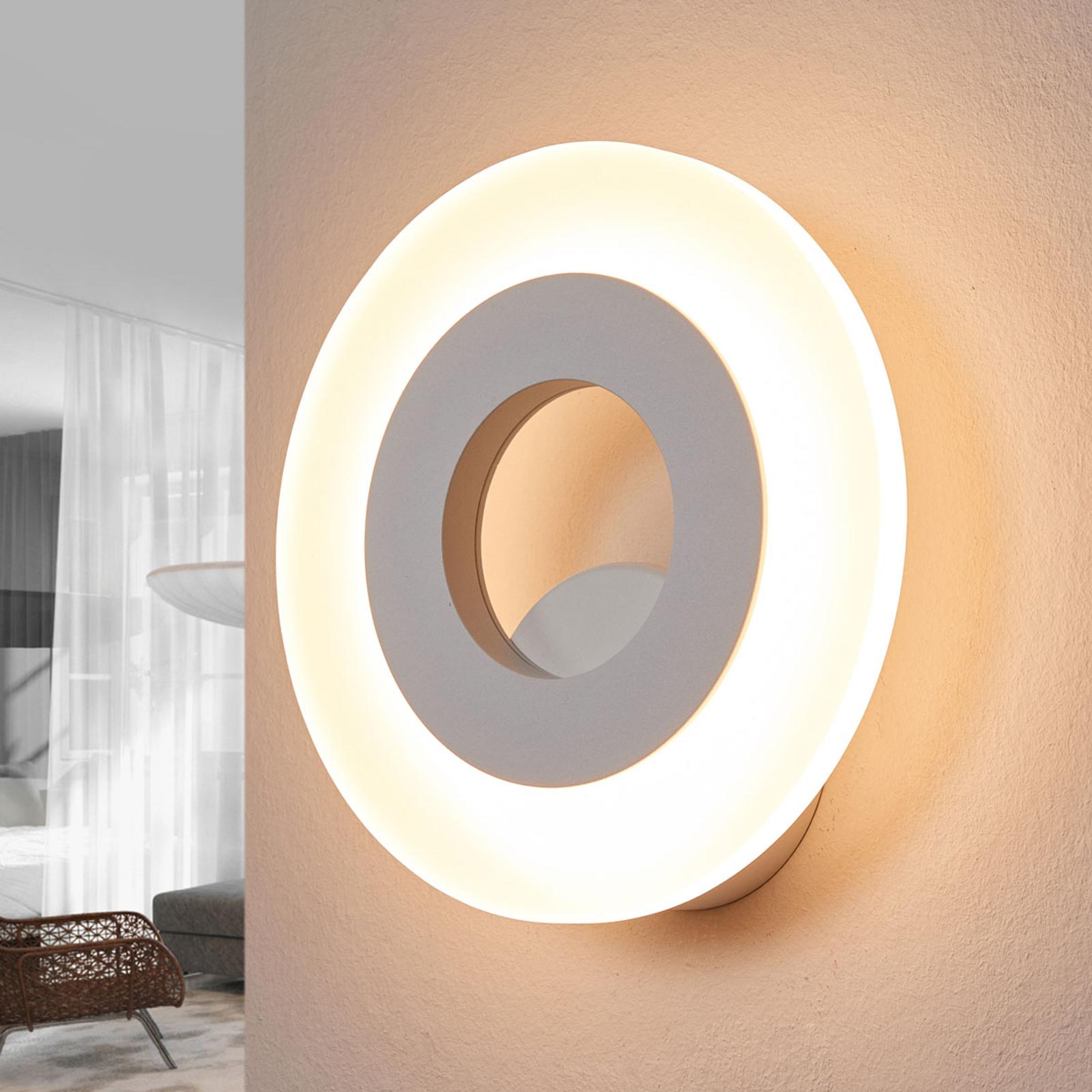 Helestra Jenna - runde LED-Wandleuchte