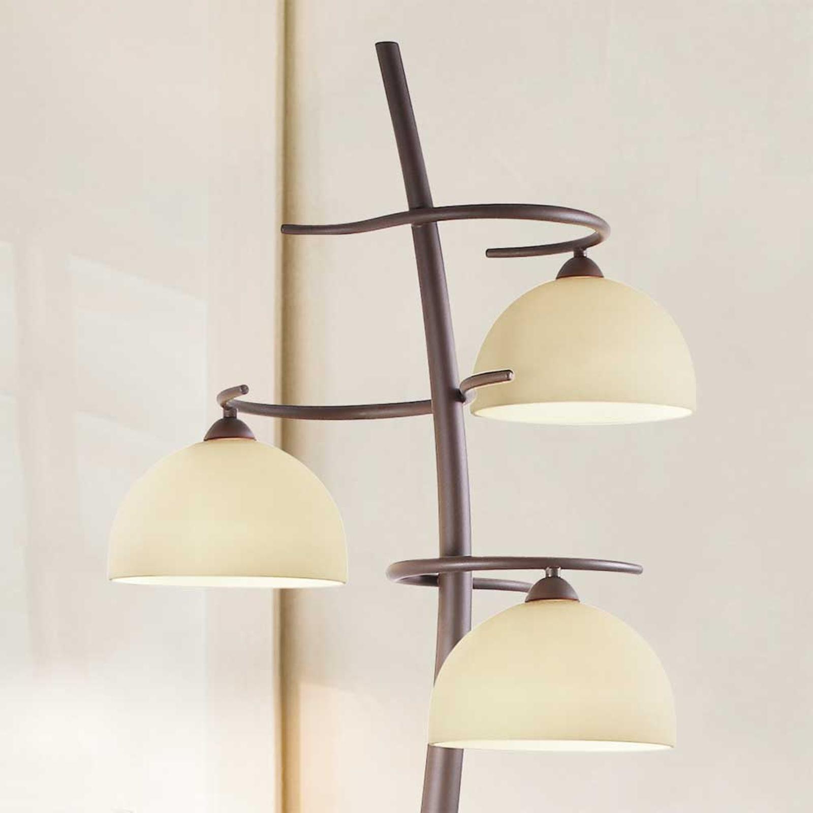 Hengelampe Christian i rustikk stil | Lampegiganten.no