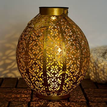 Pauleen Sunshine Aura LED-Solarleuchte in Gold