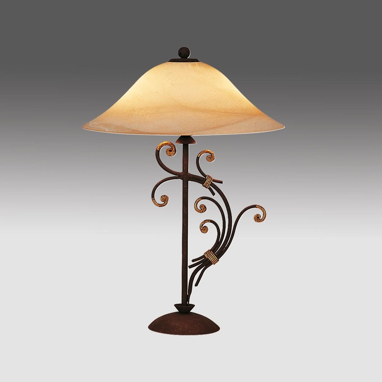 Florence bordlampe i florentinsk stil