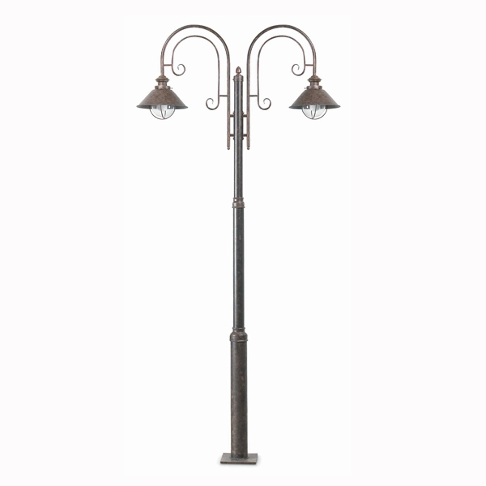 Magnifique lampadaire Nautica à 2 lampes