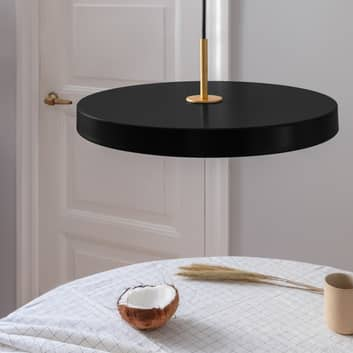 UMAGE Asteria medium lampa wisząca mosiądz czarna