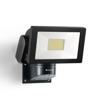 STEINEL LS 300 M utendørs LED-spot, svart