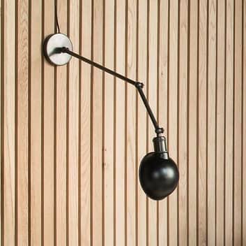 Menu Hudson plafondlamp van gebruineerd messing