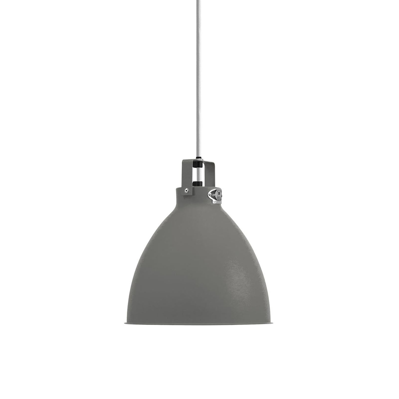 Jieldé Augustin A240 lampa wisząca szara matowa