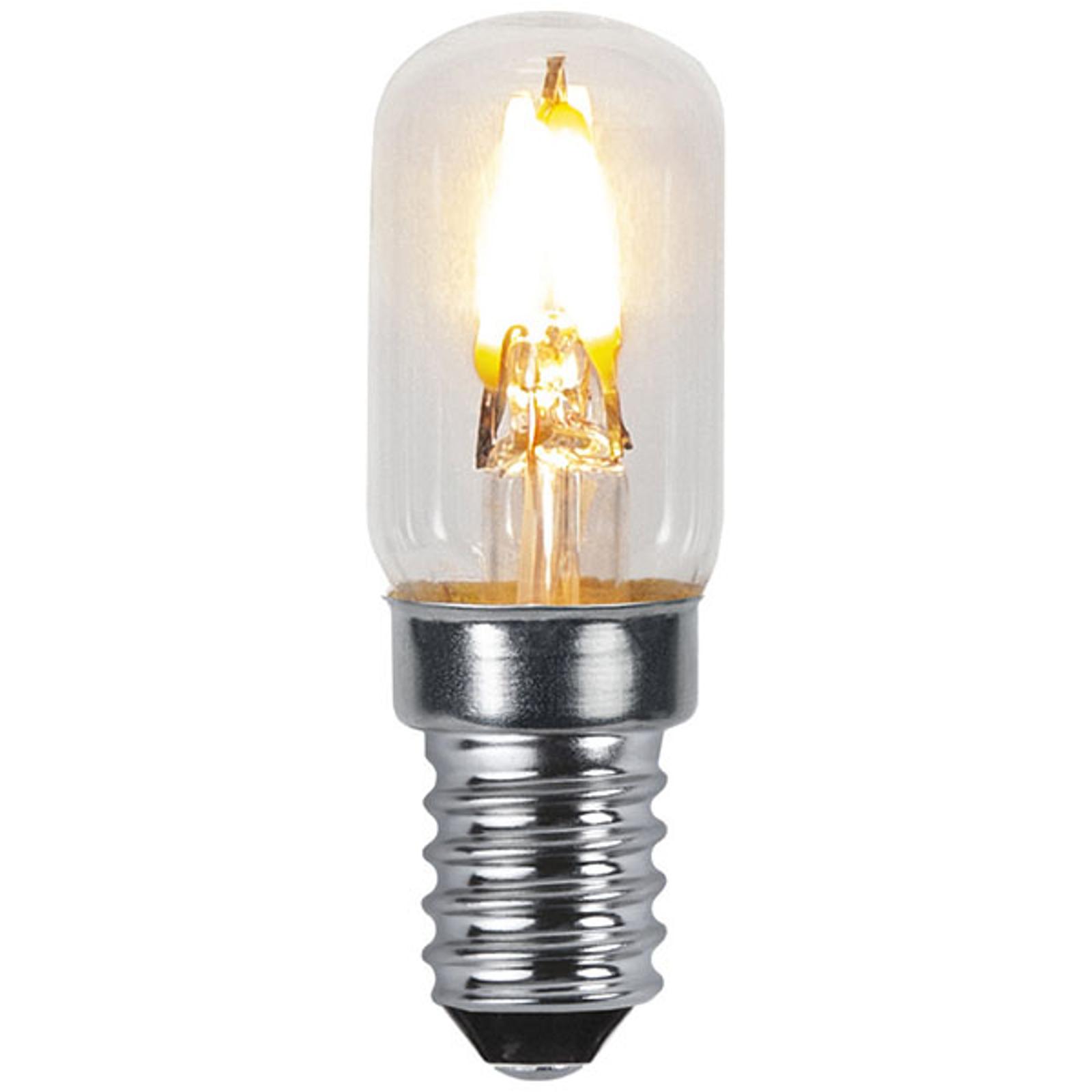 E14 T16 LED-pære 0,3 W 30 lumen Soft Glow, 2.100 K
