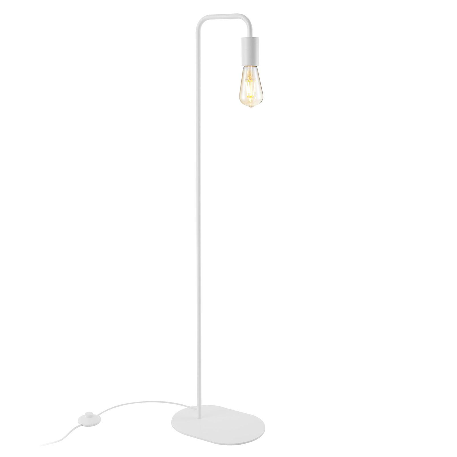 SLV Fitu vloerlamp van metaal, wit