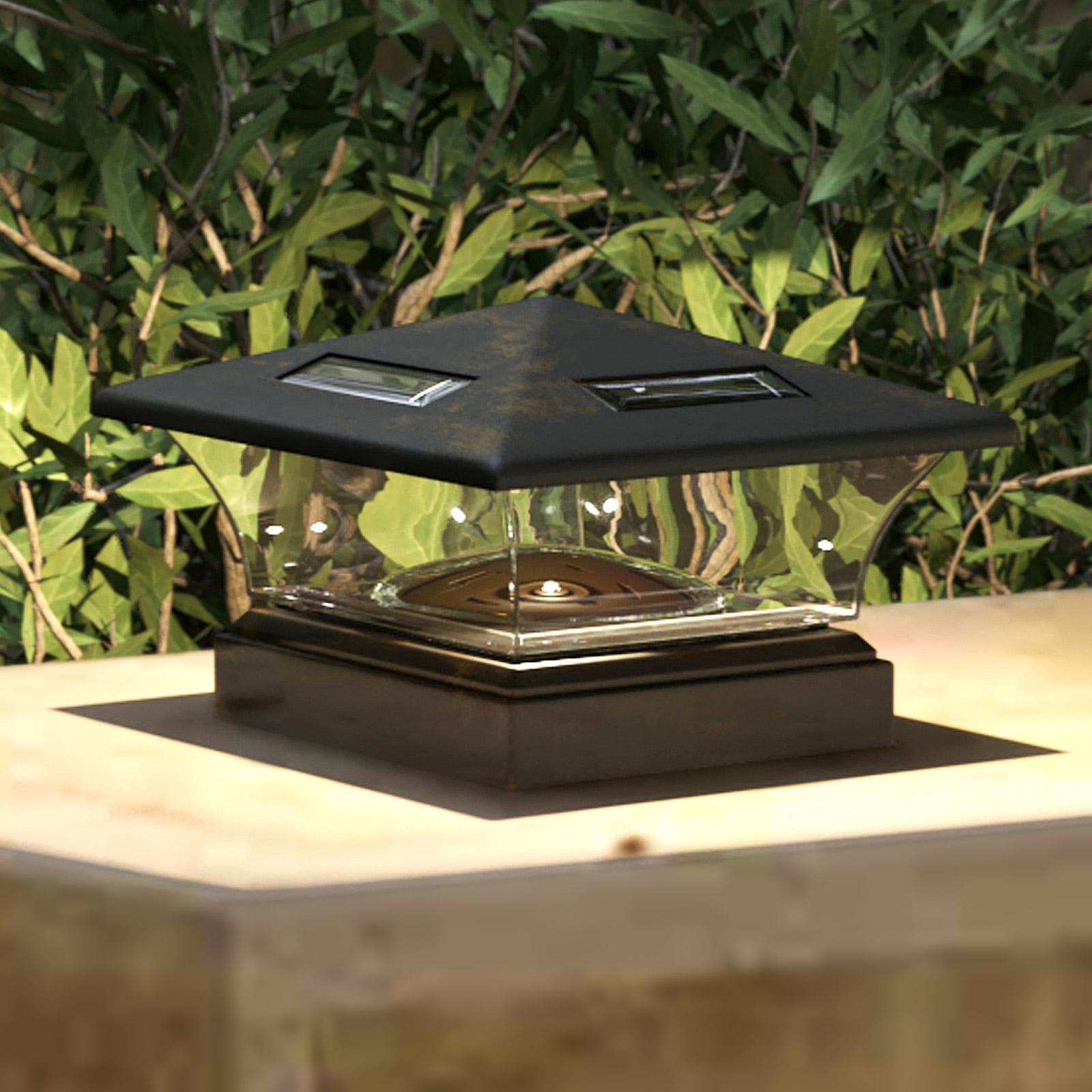 Lindby Theus aurinkokäyttöinen LED-valaisin