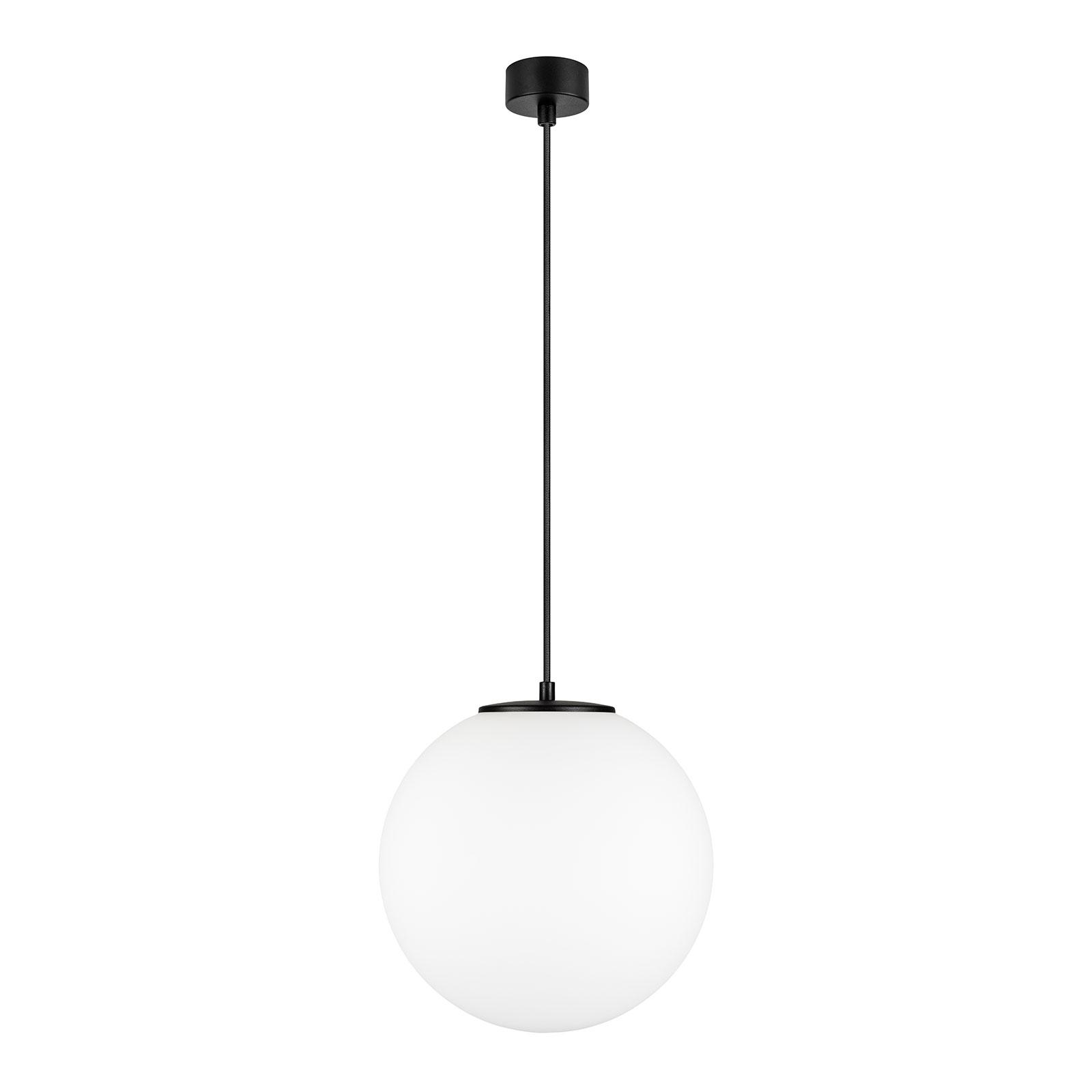 Tsuki L hengelampe, 1 lyskilde, Ø 30 cm, svart
