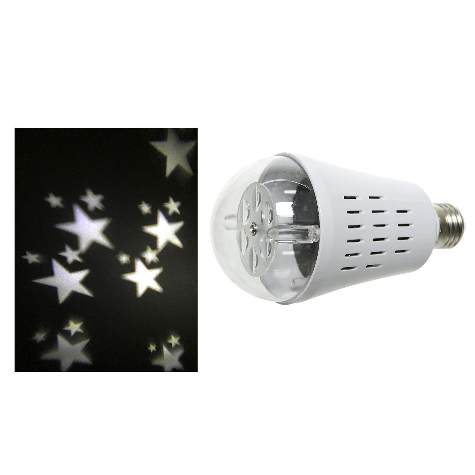 LED E27 - lampada che proietta stelle