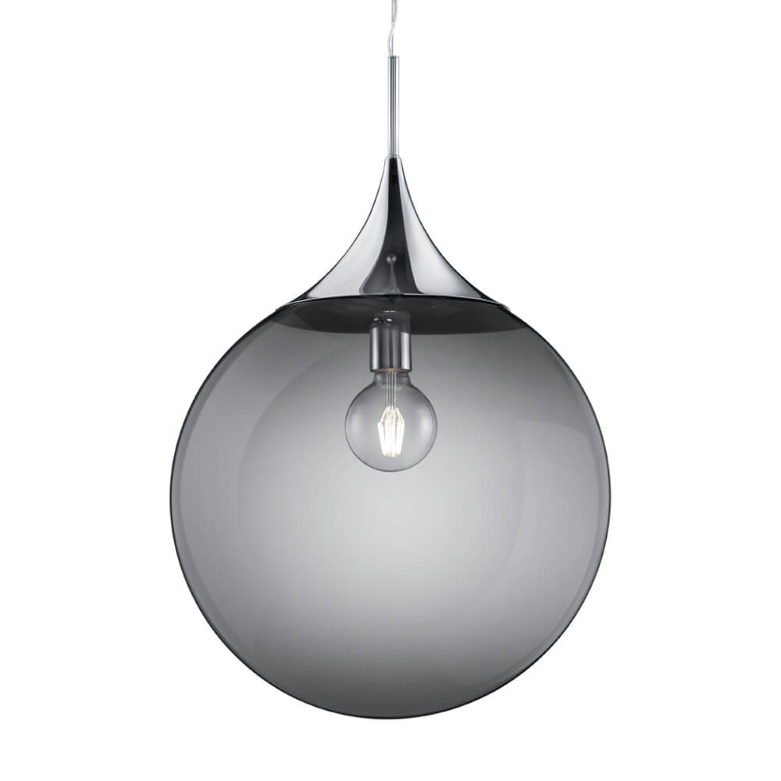 Suspension en verre exclusive Midas, Ø 45 cm