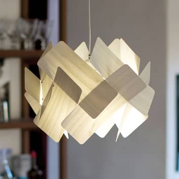 LZF Escape lampa wisząca z forniru drewnianego