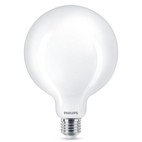 Philips LED Classic Globelampe E27 G120 13W matt