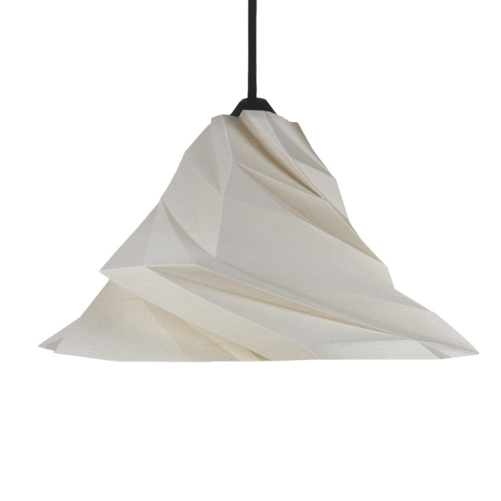 Twister hængelampe, beige