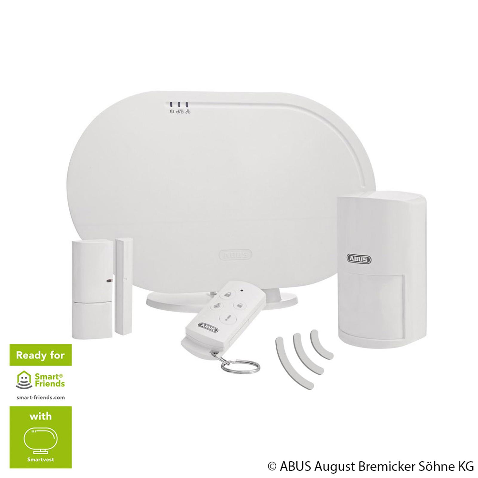 ABUS Smartvest Funk-Alarmanlage Basis-Set