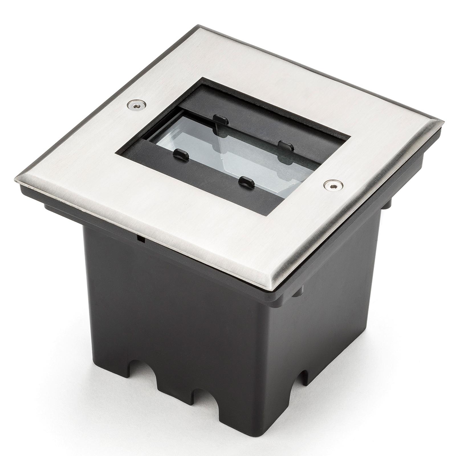 Spot de sol LED Malte avec sortie flexible, 9 W