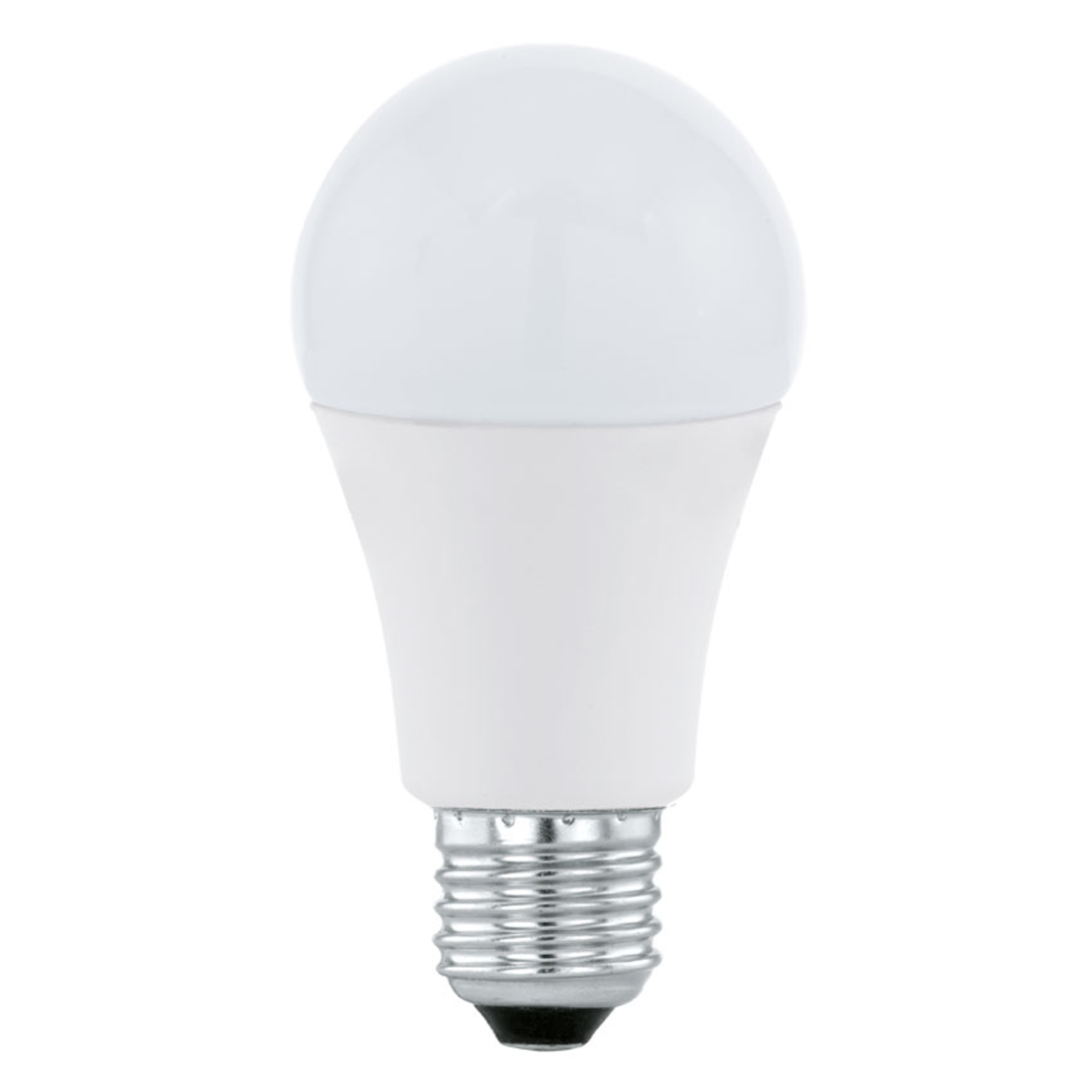 Ampoule LED E27 A60 12W, blanc chaud, opale