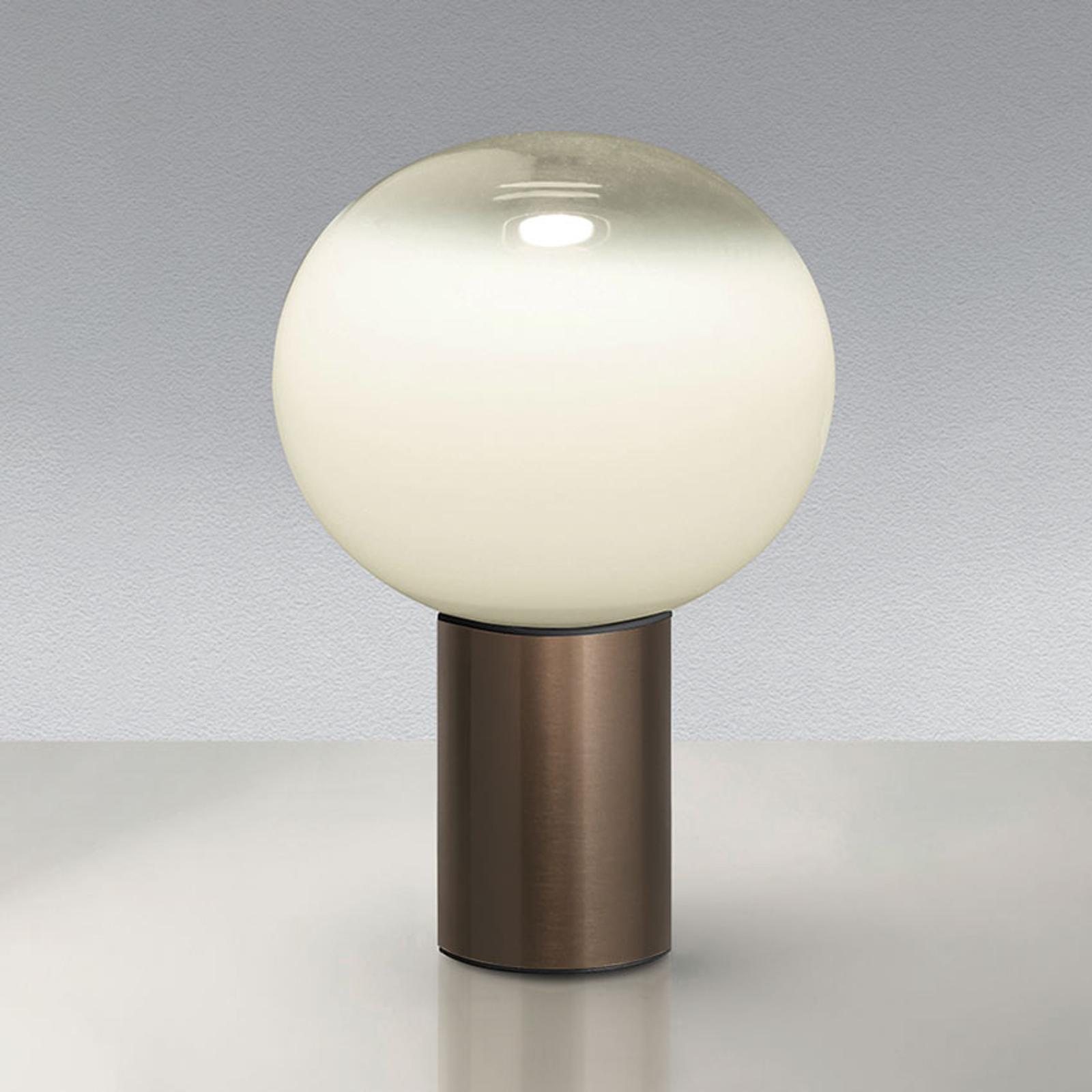 Artemide Laguna 16 lámpara de mesa bronce