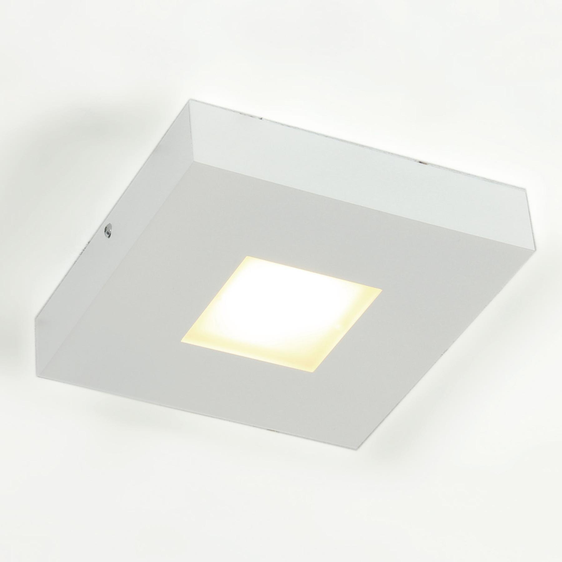 Wysokiej jakości lampa sufitowa LED Cubus, biała
