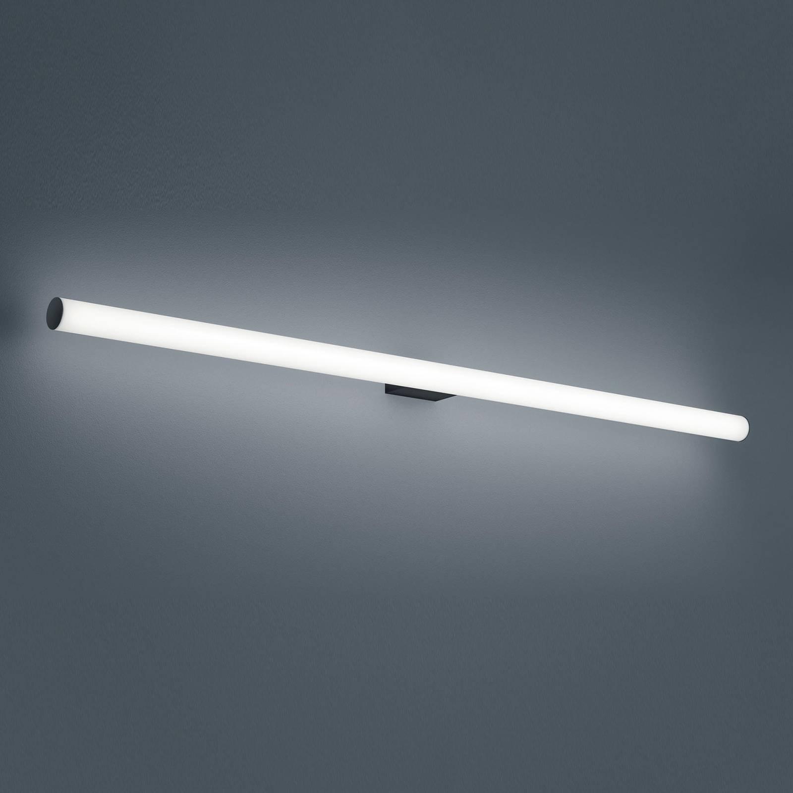 Helestra Loom applique miroir LED noire 120cm