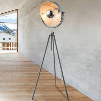 Miriam Dreibein-Stehlampe in Betonoptik
