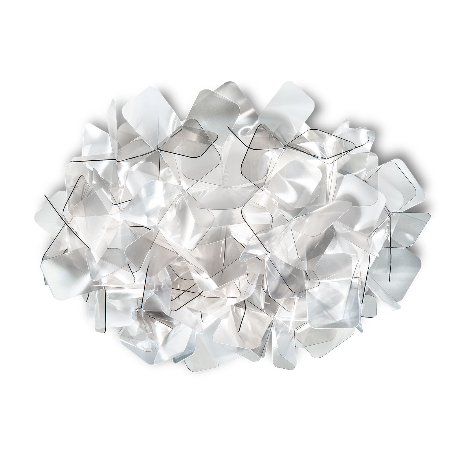 Slamp Clizia lampa sufitowa, Ø 32 cm, fumé