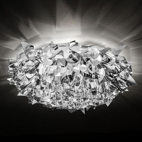 Slamp Veli Large stropní světlo Ø78cm stříbrné