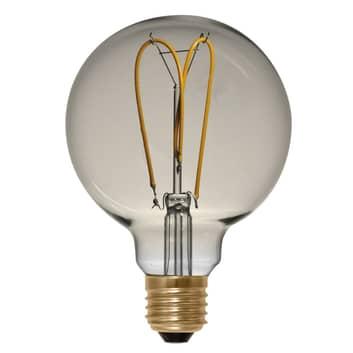 LED-pallo G125 E27 4W 922 Curved Line, kulta