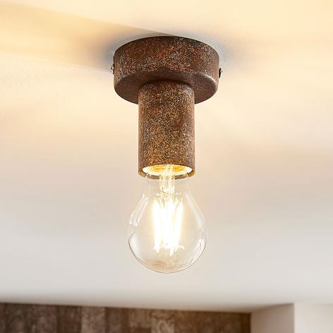 Lámpara de techo Jake en color rojizo