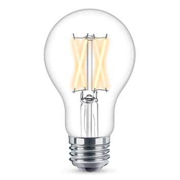 WiZ E27 LED A60 - čirá 6,5 W 2 200-5 500 K