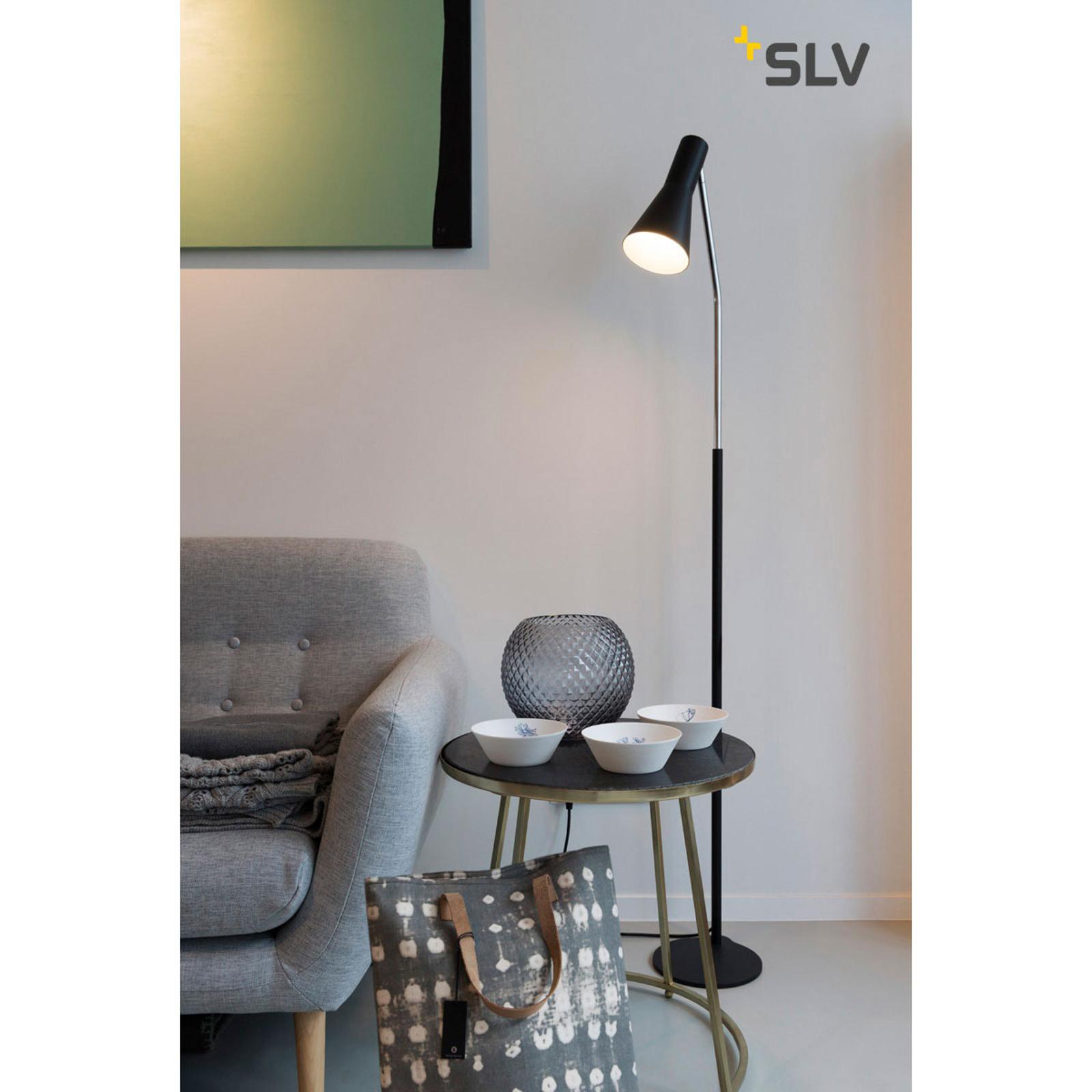 SLV Phelia lampa stojąca czarna