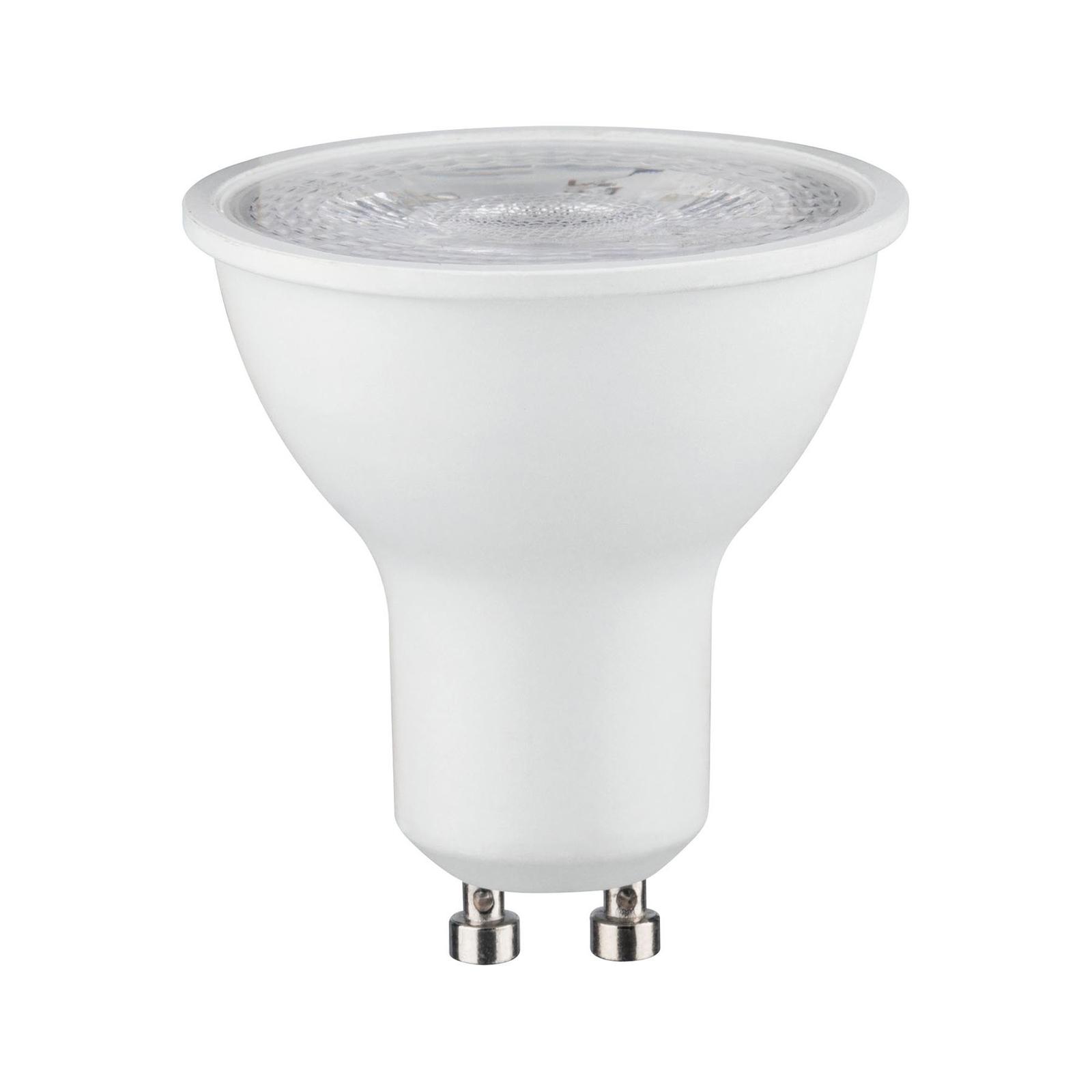 Paulmann LED-reflektor GU10 7W, 4000K dimbar hvit