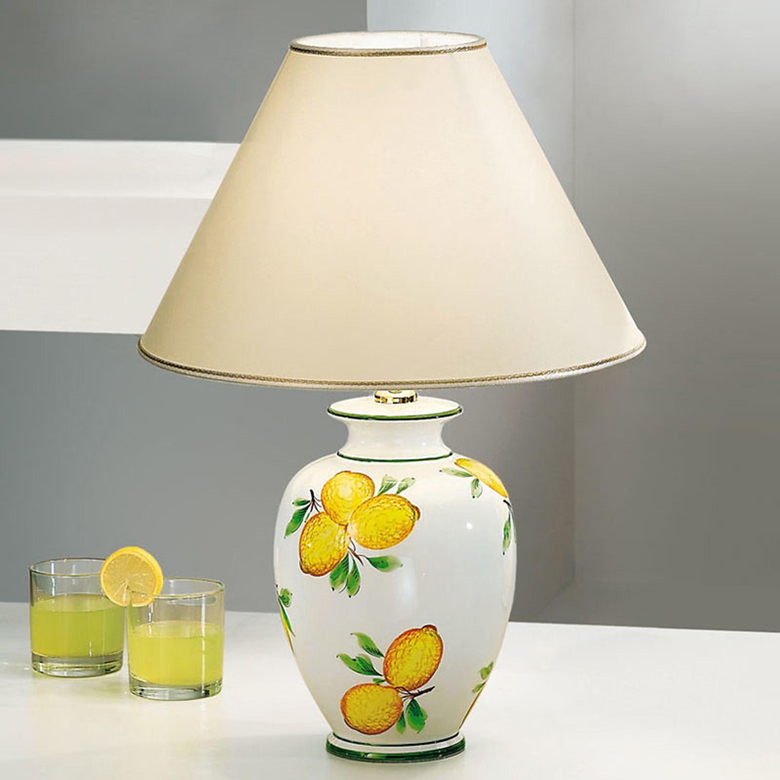 Tischleuchte Giardino Lemone, Ø 40 cm